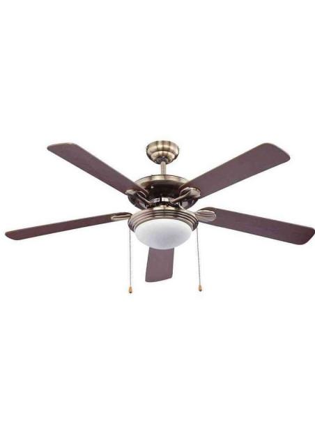 Ventilador Techo Bastilipo Cartaya 5 Palas 560W Mando Distancia