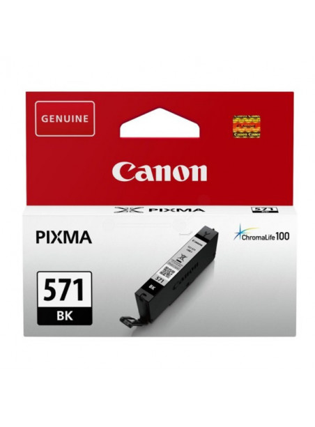 CARTUCHO CANON CLI-571BK NEGRO  PIXMA MG5751 MG
