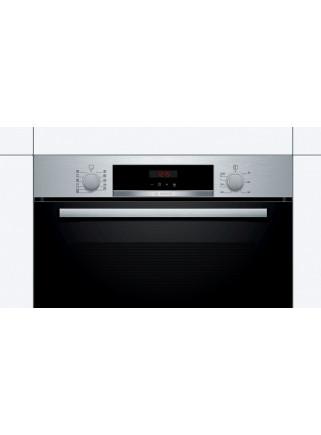 Horno Bosch HBA5740S0 Multifunción 71L Cristal Negro A Prirólitico LED