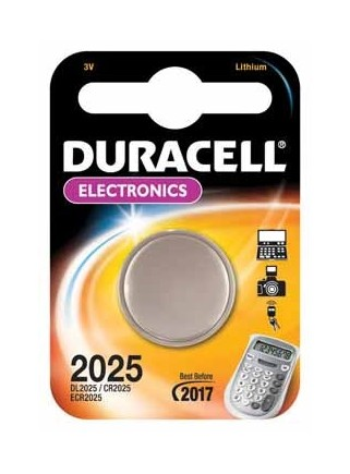 Pack 2 Pilas Duracell Litio...