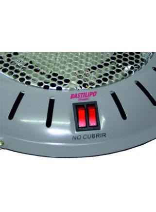 Brasero Bastilipo NL25 950W Eléctrico Rejilla Seguridad 3 Potencias