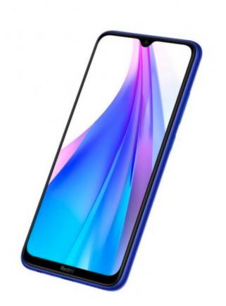 """TELÉFONO MÓVIL XIAOMI REDMI NOTE 8T STARSCAPE BLUE 6.3"""" 4GB RAM 64GB 4 CAM 48MP+8MP+2MP+2MP"""