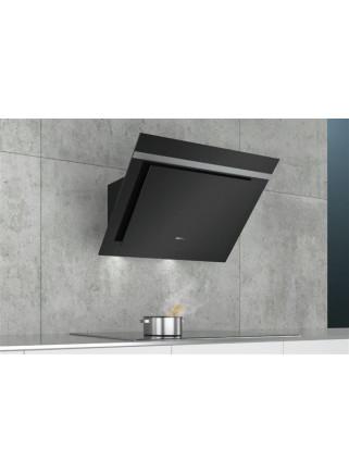 Campana Extractora Inclinada SIEMENS LC87KHM60 IQ300 80cm Cristal Negro 700m3/h Touch LED