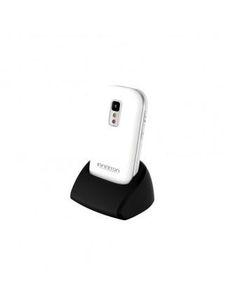 "Teléfono Infiniton T1 Blanco Pantalla 2.4"" Concha"