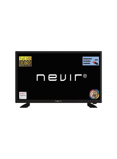 "TELEVISOR NEVIR 22"" FULL HD SLIM TDT HD CI TIMESHIFT FUNCION HOTEL USB REPRODUCTOR 3 HDMI"
