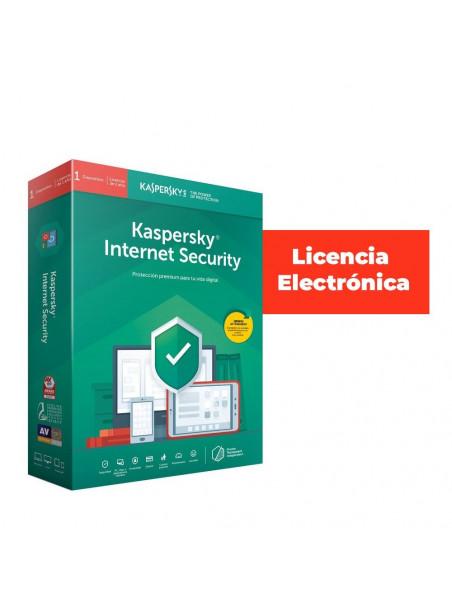 ANTIVIRUS ESD KASPERSKY 1 US INTERNET SEC LIC ELEC