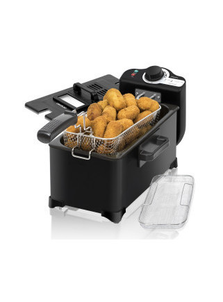 Freidora CleanFry 3L Black