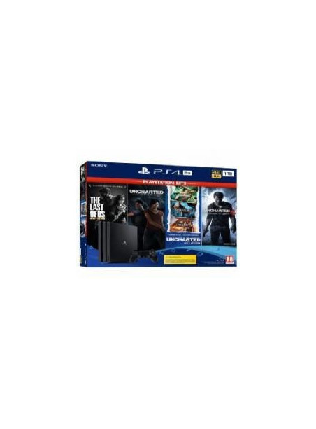 CONS. PS4 PRO 1TB + PACK HITS UNCHARTED