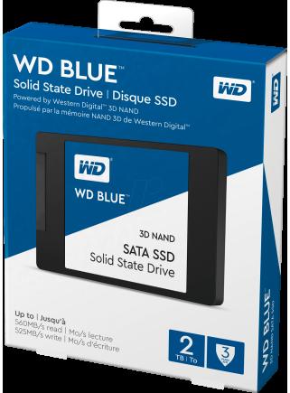 Disco Duro SSD WesternDigital WDS100T2B0A 1TB WD BLUE SATA3