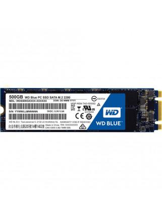 Disco Duro SSD Western Digital WDS500G2B0B 500GB SATA3 Blue NAND