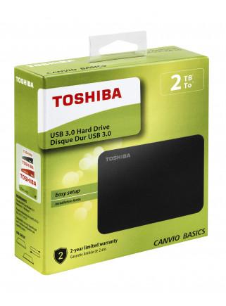 Disco Duro Externo Toshiba HDTB420EK3AA 2TB USB 3.0