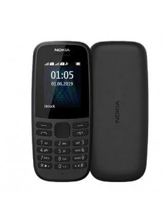 Teléfono Móvil Nokia 105 Estilo Clásico Dual SIM 11.2cm Color Negro