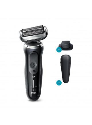 Afeitadora en Seco y Mojado Braun Series 7 70-N1200s Funda y Accesorio