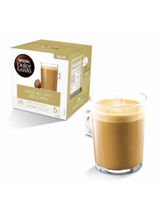 Caja de 16 Cápsulas Nescafé Dolce Gusto Café con Leche Delicato