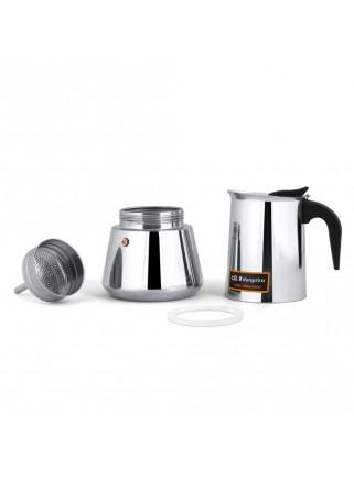 Cafetera Italiana Orbegozo KFI 660 Inox 6 Tazas