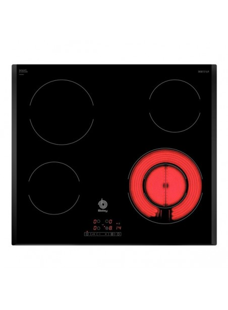 Vitrocerámica BALAY 3EB721LR 6600w 4 fuegos zona 21cm 17 niveles