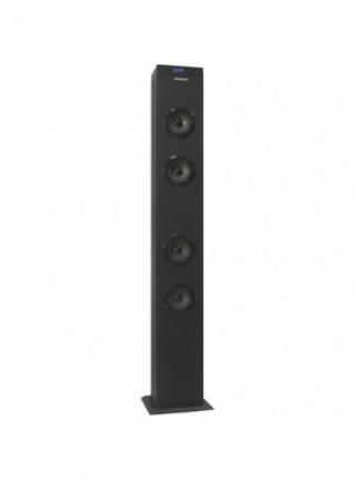 Altavoz Torre INFINITON ST-K20 20W Bluetooth Karaoke Micrófono Radio FM Negro
