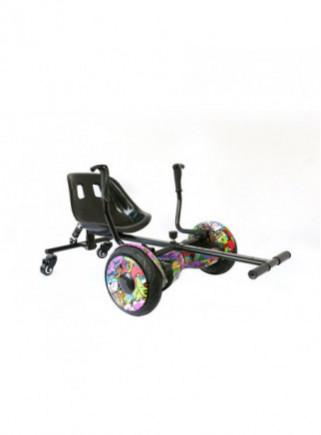 Accesorio para hoverboard INFINITON Crazy InRoller Kart Suspensión Negro