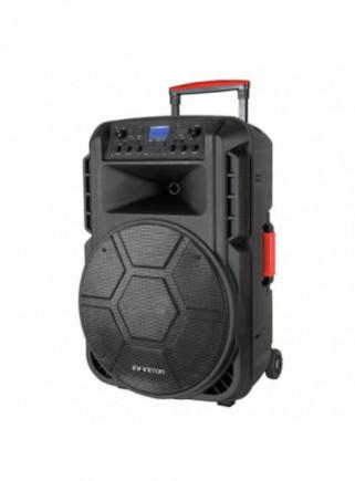 ALTAVOZ INFINITON K310 KARAOKE 310W + MICROFONO INALAMBRICO RADIO BLUETOOTH NEGRO LUZ LED