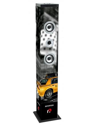 "Altavoz torre INFINITON ST-92 - Taxi 90w Subwoofer 4.5"" Karaoke Bluetooth Radio FM"