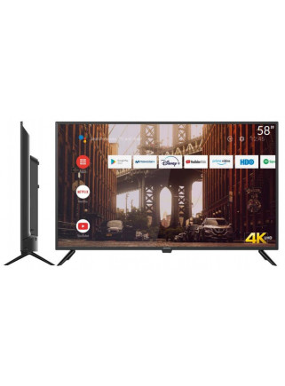 "Televisor LED 4K UHD 58""..."