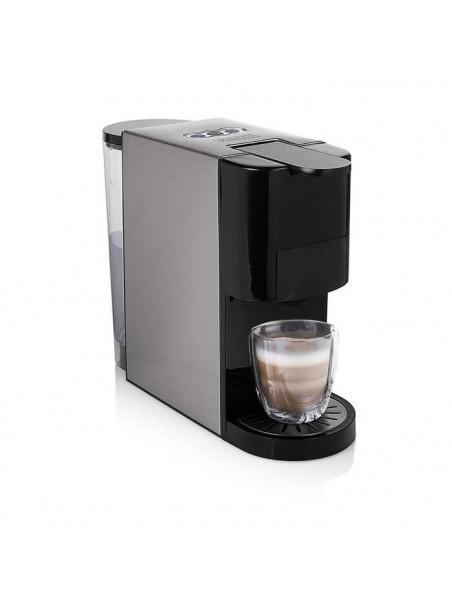 CAFETERA PRINCESS MULTICAPSULAS  4 EN 1 PARA CAFE MOLIDO CAPSULAS NESPRESS Y DOLCE GUST