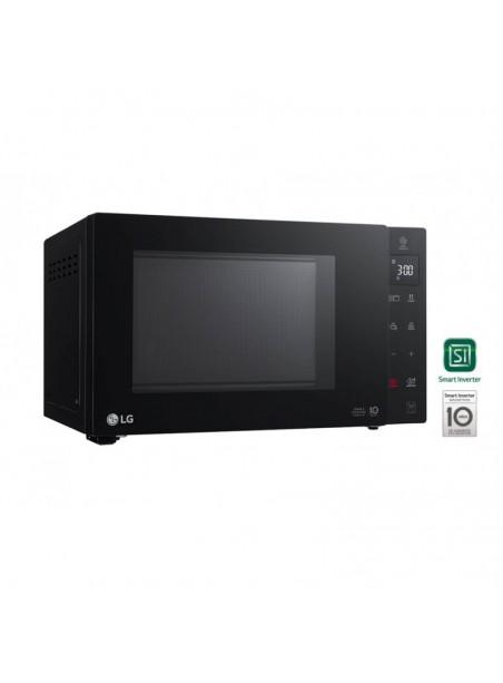 Microondas con Grill LG MH6535GIB 1000/1450w 25L SmartInverter Negro