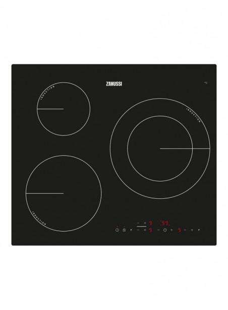 Placa de inducción Zanussi ZM6233IOK con 3 zonas de cocción