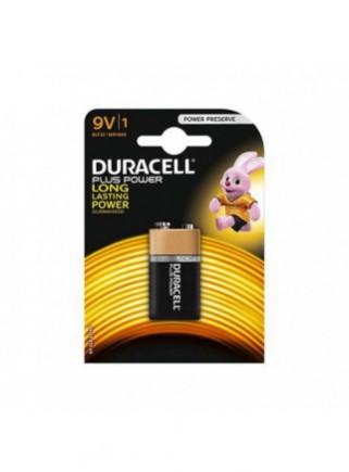 Pila Alcalina Duracell 9V...