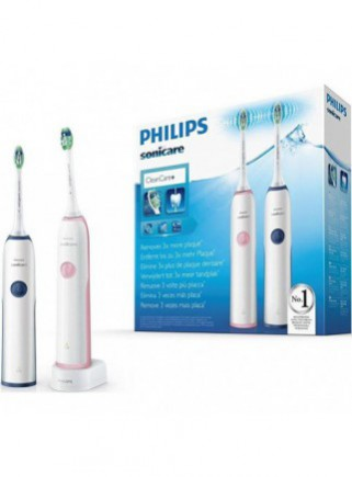 Pack Duo Cepillo Dental Philips Sonicare Cleancare HX3212