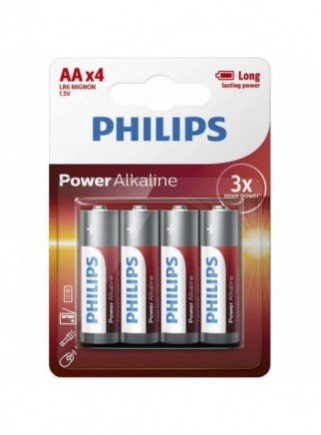 BLISTER PHILIPS 4 PILAS...