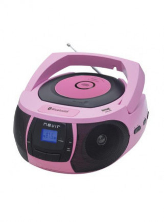 Radio CD Nevir NVR-481UB Rosa