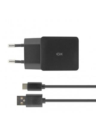 CARGADOR KSIX RED 2.4A USB...