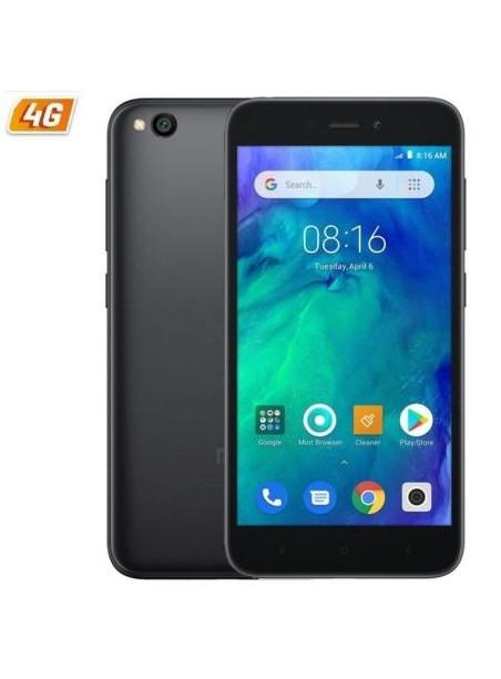 "TELEFONO XIAOMI REDMI GO BLACK - 5""/12.7CM - QC 1.4GHZ - 1GB RAM - 16GB - CAM 5/8 MP - 4G - DUAL SIM - BAT 3000MAH"