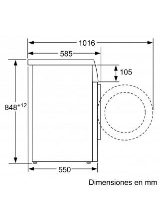 Lavadora Balay 3TS986BT Carga Frontal Blanco 8KG 1.200RPM A+++