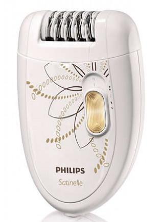 Depiladora Philips HP-6540 + Mini-Depiladora + Pinzas Luz Espejo