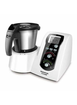 Robot de Cocina Taurus Mycook Blanco Inducción 1600W Vaporera