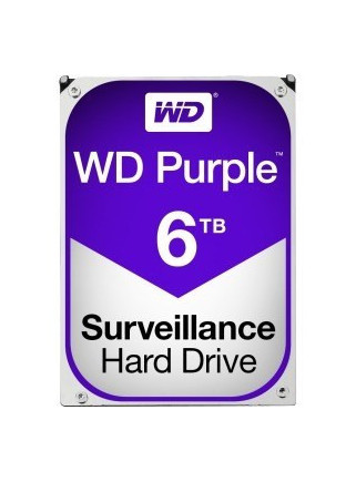 "DISCO DURO 3.5"" WESTERN DIGITAL 6TB  SATA3 PURPLE"