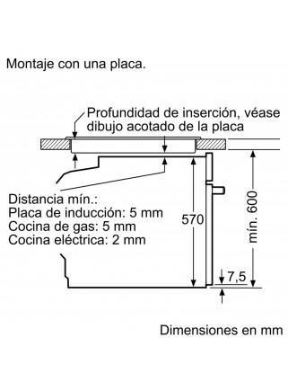 Horno Multifunción Balay 3HB4841X1 Inox A Pirolítico Autochef
