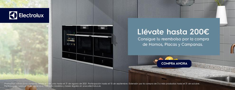 Promoción Electrolux cocina