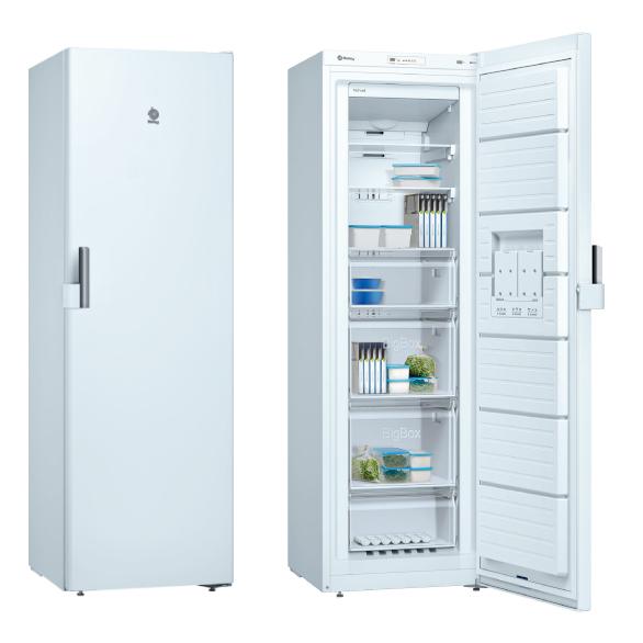 Congelador Vertical Balay 3GFB642WE No Frost